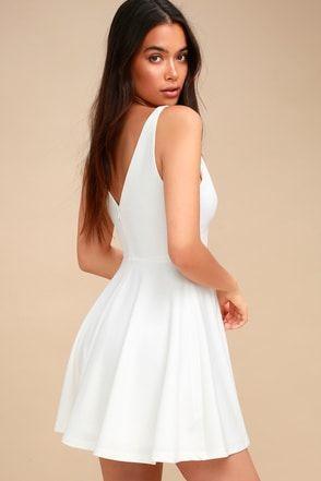 607f22f1f1c Cute Black   White Graduation Dresses at Lulus.com