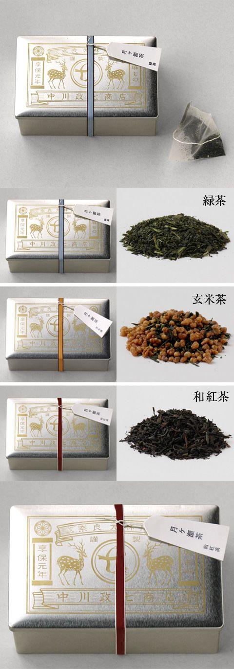 【月ヶ瀬茶(中川政七商店)】/お茶の生育に適した土壌を持つ古くからのお茶の名産地、奈良県月ヶ瀬。梅の名所としても知られる月ヶ瀬で、丁寧に作られたお茶のシリーズから、緑茶、新潟の玄米をあわせた玄米茶、和紅茶の3種類が登場。ティーバックタイプなので、お食事やお菓子の時間に気軽に楽しめるひと品です。 #tea