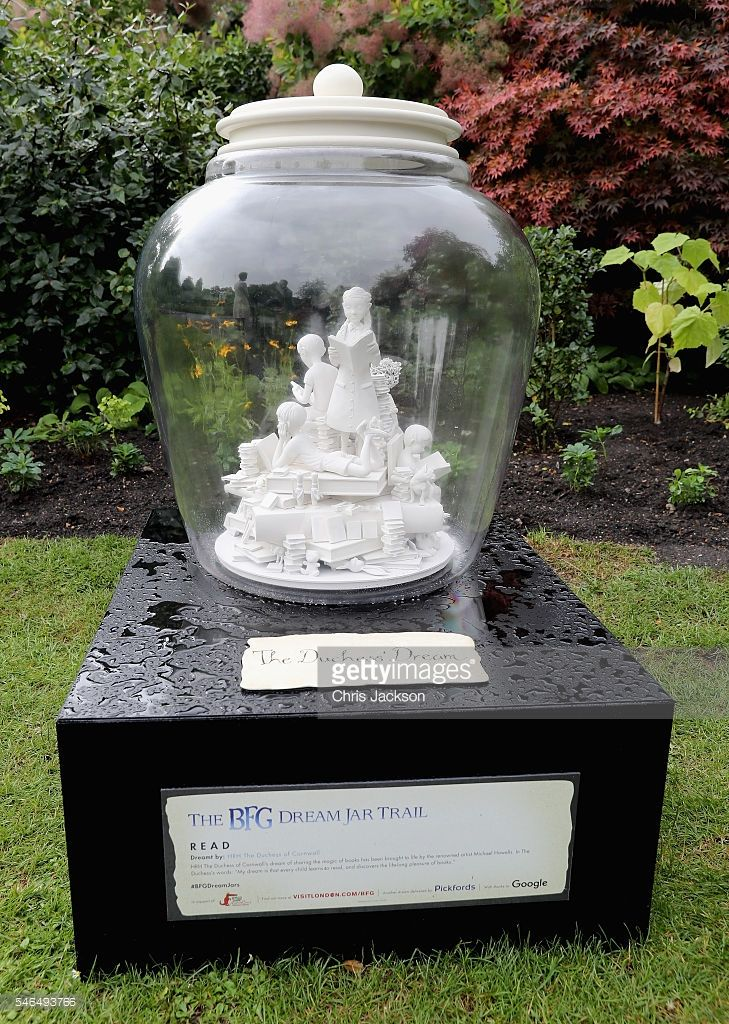 The Duchess of Cornwall's BFG Dream Jar Trail in St James Park on July 12, 2016…