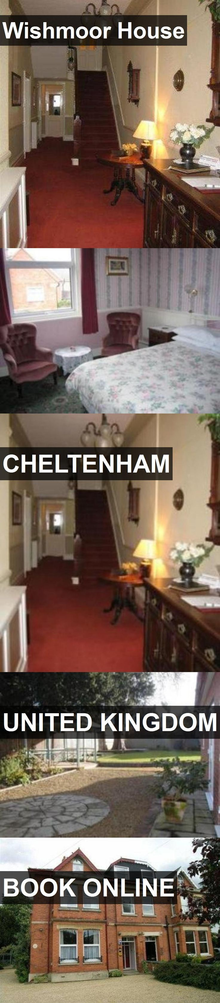 Hotel Wishmoor House in Cheltenham, United Kingdom. For more information, photos, reviews and best prices please follow the link. #UnitedKingdom #Cheltenham #travel #vacation #hotel