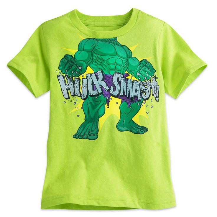 Hulk Smash Tee for Boys