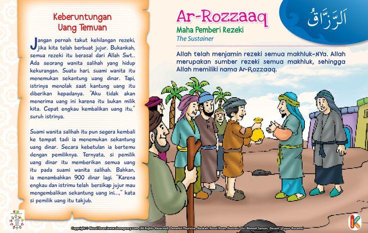 Kisah Asmaul Husna Ar-Rozzaaq