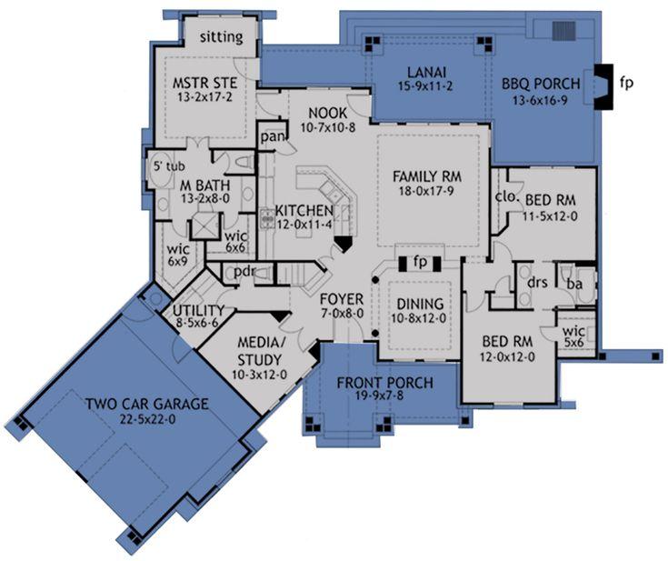 House Plan 9401 00001 Craftsman Plan 2 091 Square Feet 3 Bedrooms 2 5 Bathrooms House Plans Craftsman House Plan Best House Plans