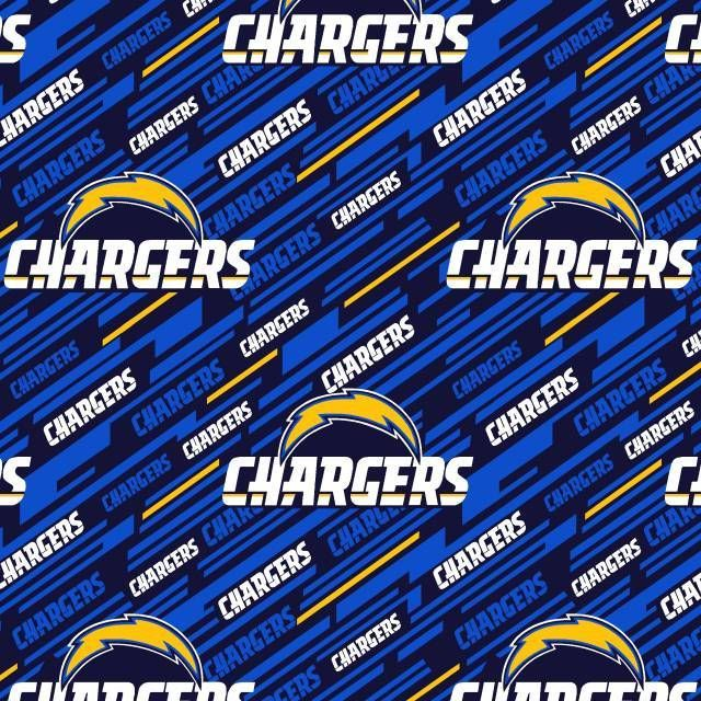 San Diego Chargers Fleece Fabric: Los Angeles Chargers Fleece Fabric