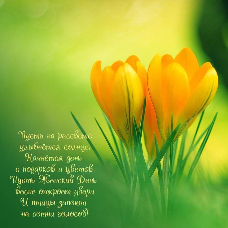 Стихи поздравления на 8 марта