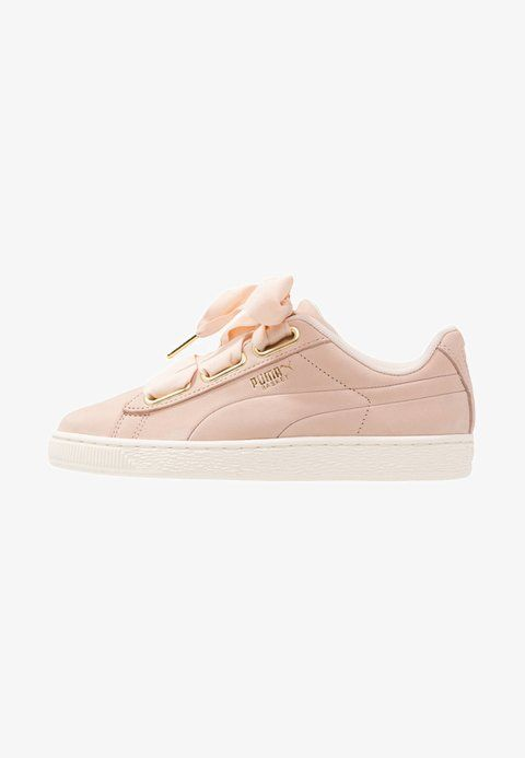 Puma BASKET HEART SOFT - Trainers - cream tan marshmallow - Zalando.co. 49b1416bf