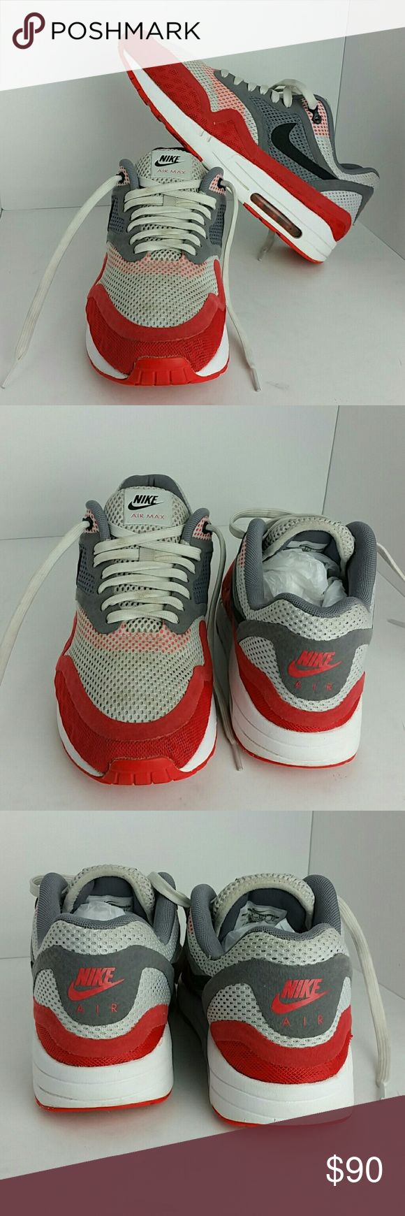NIKE AIR MAX 1 BR MEN'S SHOES VERY CLEAN INSIDE-OUT   SKE # Ku4 NIKE Shoes Athletic Shoes