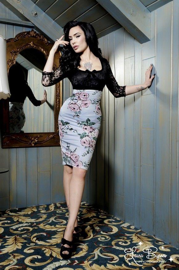 Girl Crush + Pin-Up Style Icon: Micheline Pitt