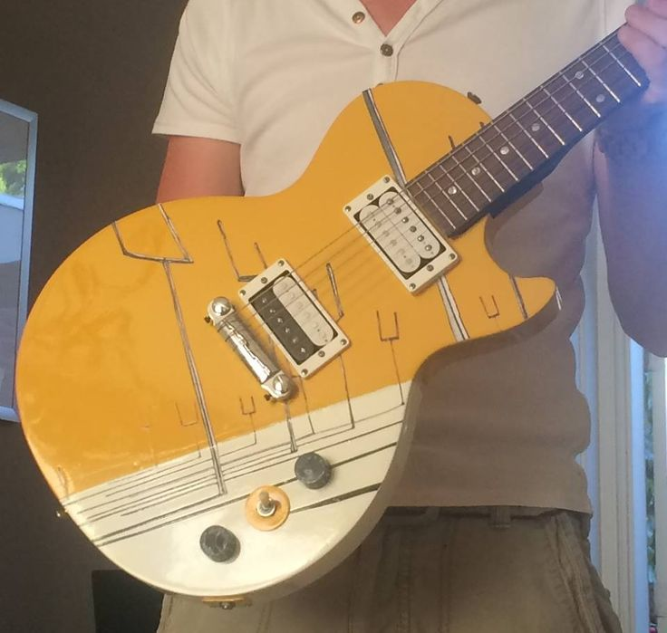 Muse origin of symmetry custom guitar