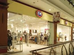 C  A -  my favourite clothes shop as a teenager.