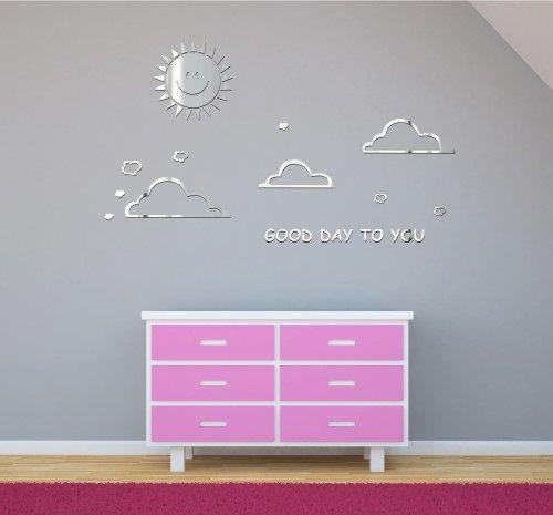Originálne nalepovacie dekorácie do detskej izby