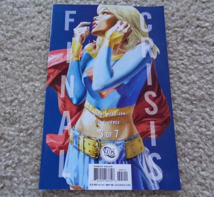 DC Comics Final Crisis 3 of 7 Grant Morrison September 2008