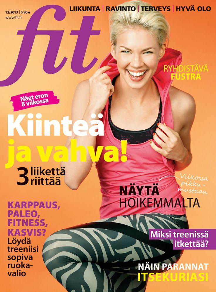 Fit 12/2013 #fitlehti #kansi