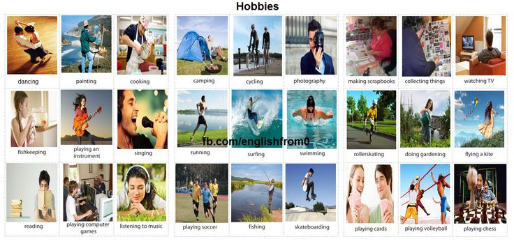 English For Beginners: Hobbies