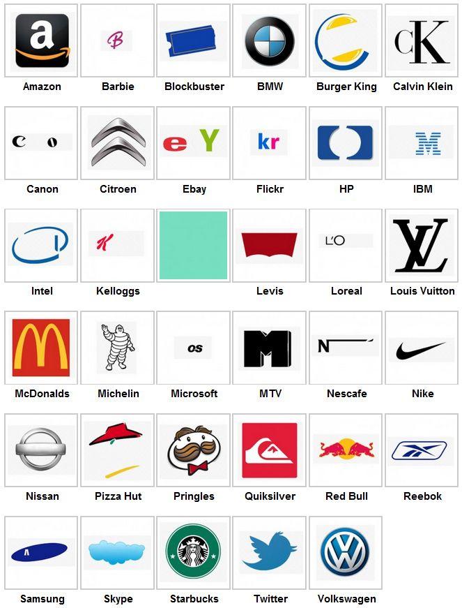 ответы на лого квиз с картинками бодрости