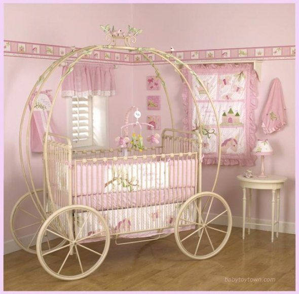 This is how they should make baby cribs for baby girls:)