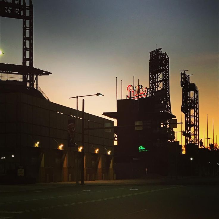 Caught #Phillies stadium in the right light