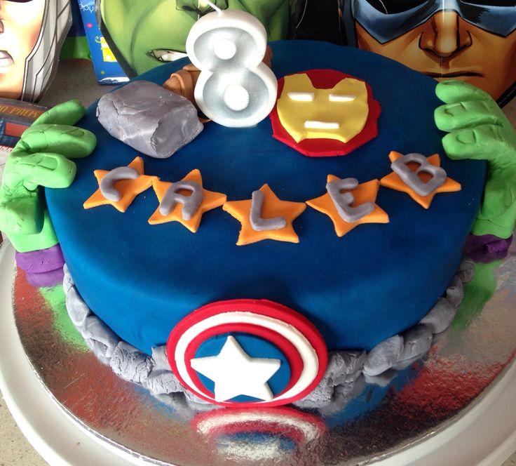Avenger cake number 3