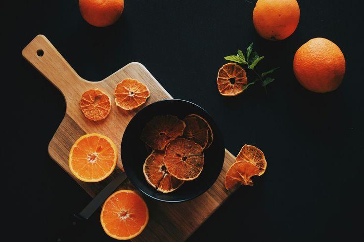 Breakfast oranges