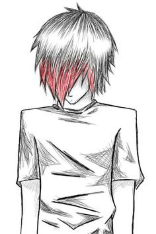 Emo Boy Drawing Art Ideas Pinterest Boys Love This