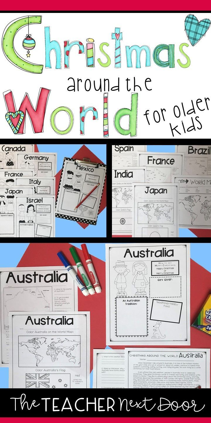 Christmas Around the World for Older Kids | Holidays Around the ...