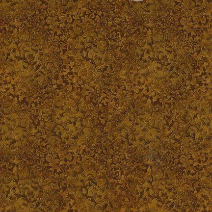 Robert Kaufman Fabrics: EYJM-6644-133 GOLD from Fusions® 6644