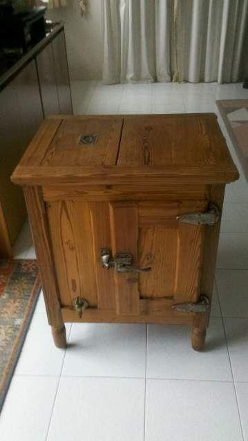 Ghiacciaia di legno primi novecento in... a Casarza Ligure - Kijiji: Annunci di eBay