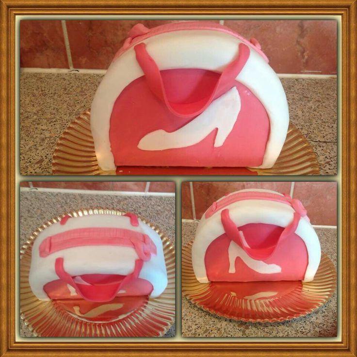 Handtas taart