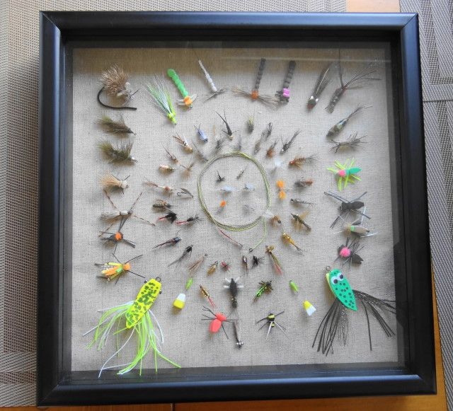 1000 images about shadowboxes on pinterest fly fishing for Fly fishing box