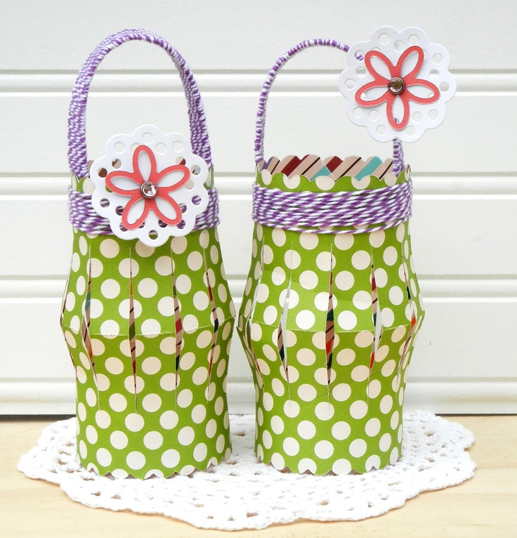 Cokie Pop Paper Boutique: Summer Lanterns - Also cute for easter egg hunt!