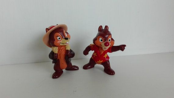 Vintage Disney Bullyland Rescue Rangers   by Edvintagecollectible
