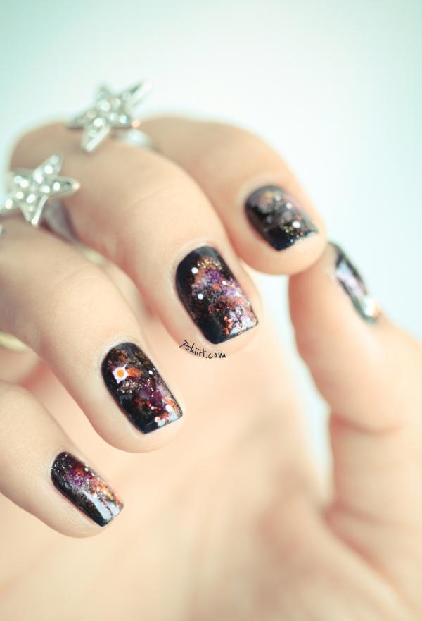Galaxy      Nails: Makeup Nails, Articles Classified, Nails Art, Nailpolish, Art Design, Nails Wwwpshiiitcompage2, Nails Polish, Galaxy Nails, Galaxies Nails