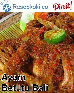 Resep Ayam Betutu Bali : resep, betutu, Resep, Betutu, Ayam,, Makanan, Minuman,, Masakan