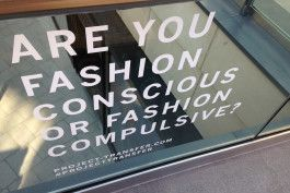 Ethical, green and slow fashion movement.