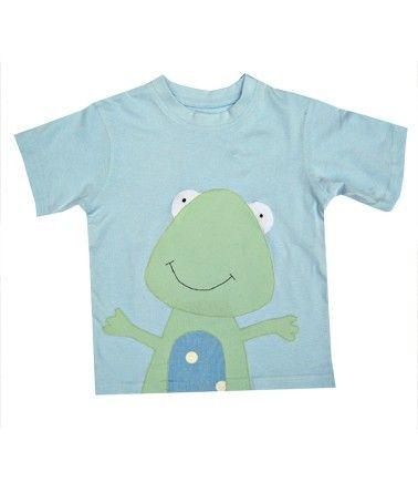 Frog T-Shirt  / Boys Tee Shirt / Baby Shirt / by WithHugsandKisses