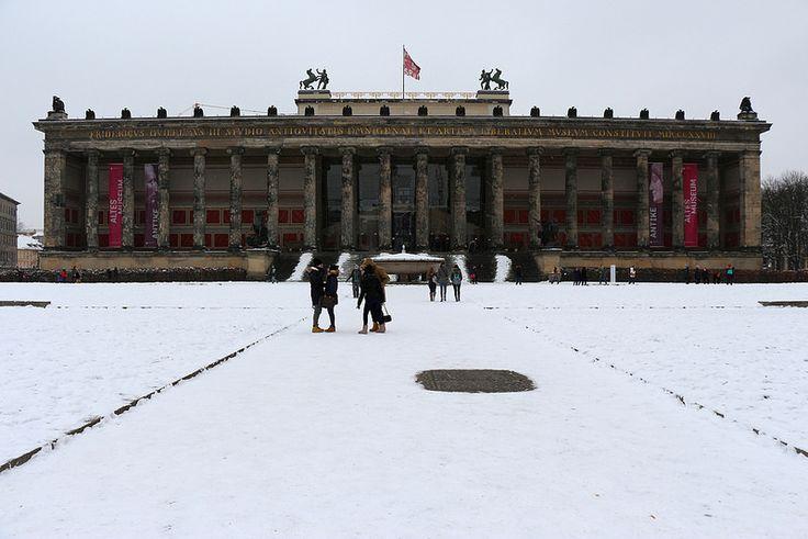 Berlin, Germany - Museum Island - #berlin #travel #city #photography #snow