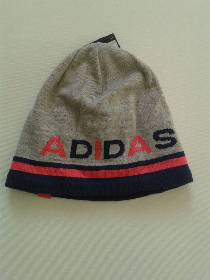 Adidas Beanie Women Winter Ski Warm Knit Original Brand Gray Sport Style Outdoor #Adidas #Beanie