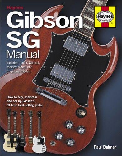 Haynes Gibson SG Manual. £21.99