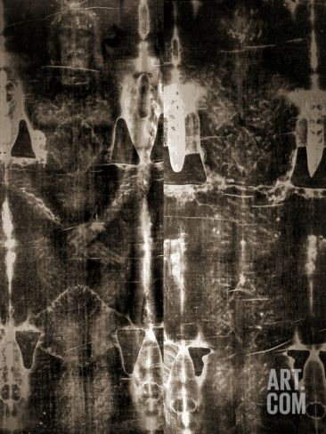 Shroud of Turin Full Image Poster at Art.co.uk