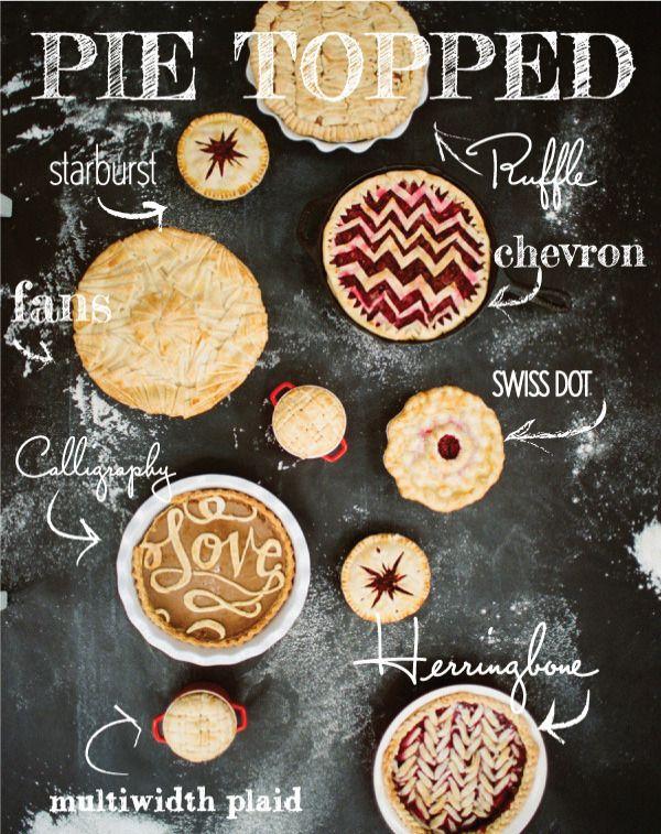 Cutie pie crusts to make a statement.