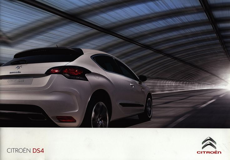 https://flic.kr/p/GXyxiU | Citroen DS4; 2010_1 | front cover car brochure by worldtravellib World Travel library