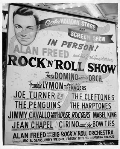 Alan Freed, the DJ who coined the term Rock and Roll, found himself in the middle of a scandal in which record companies and artists paid to have their recordsplayed on the air.