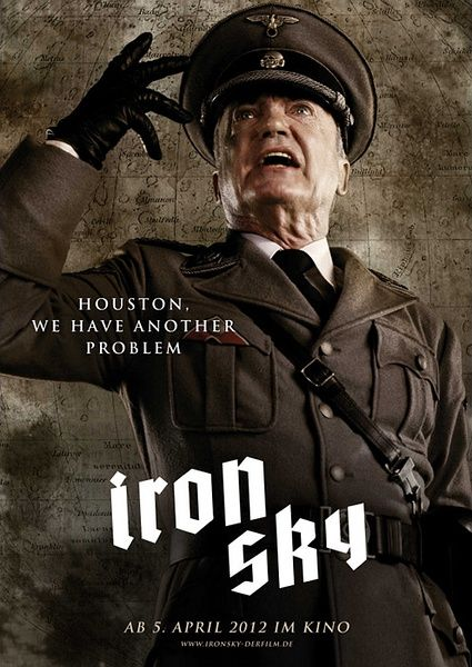 Iron Sky (2012) by Jarmo Puskala (original concept), Johanna Sinisalo (based on a story by), Michael Kalesniko (screenplay) and Timo Vuorensola (screenplay) /// more film stuff here - www.littleknownfilm.com