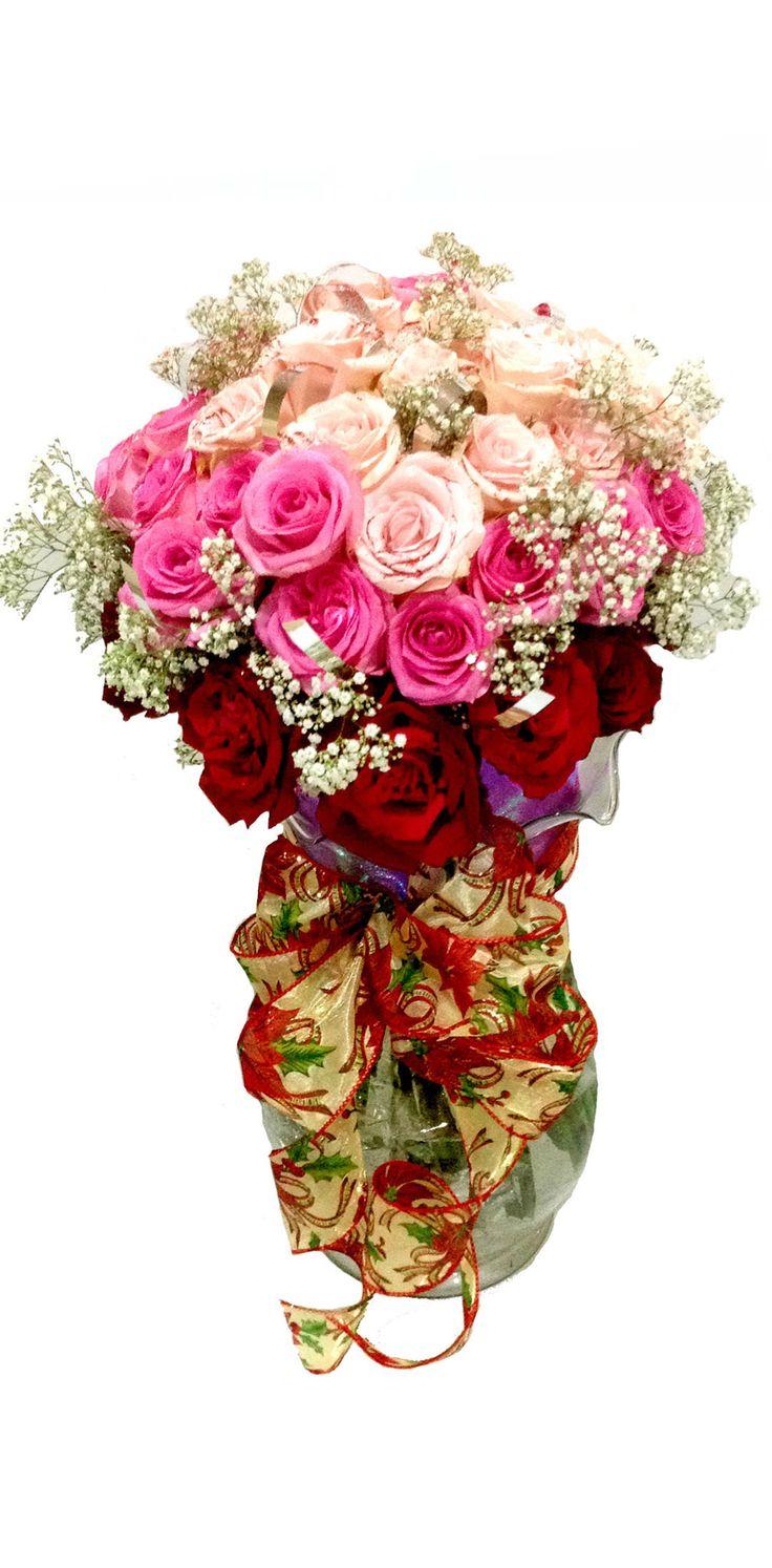 Vase Bouquet for Anniversary Website : www.Flowerforsoul.com Email : Info@flowerforsoul.com Pin BB : 21BB62AB