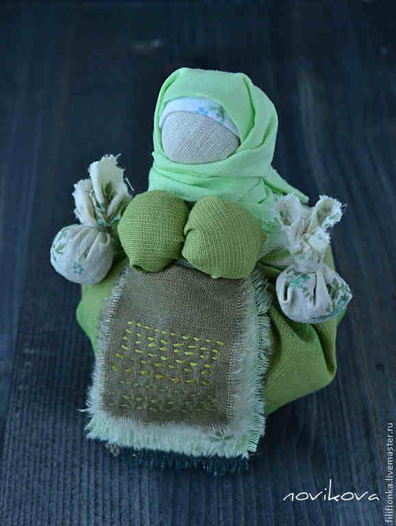 """Народная кукла-оберег """"Кубышка-травница"""" - народная кукла,традиционная кукла"""