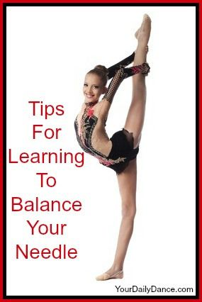 Tips For Balancing Your Needle or Scorpion - Your Daily Dance