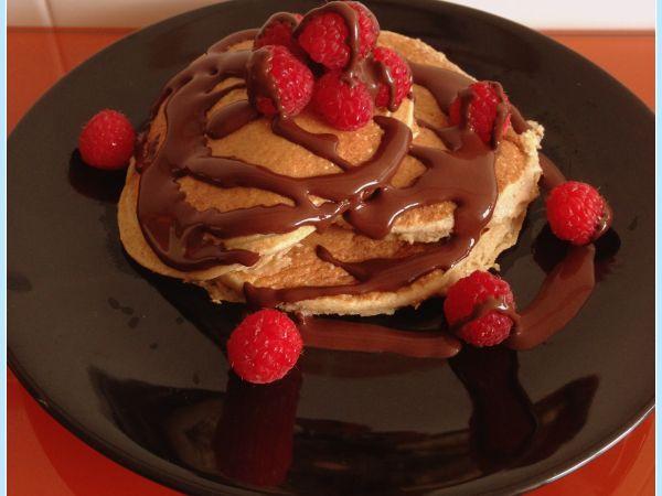 Tortitas de avena y platano (sin azúcar), Receta por Marequebueno - Petitchef