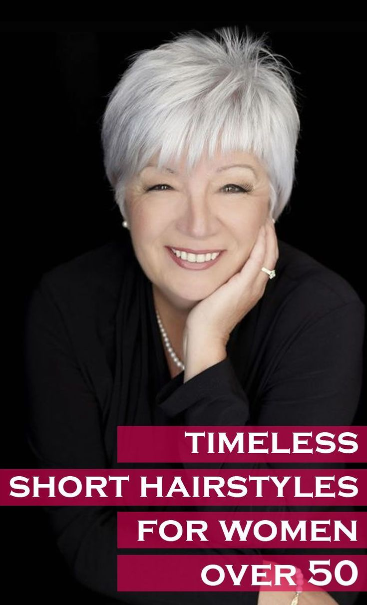 Timeless short hairstyles for women over 50 With images