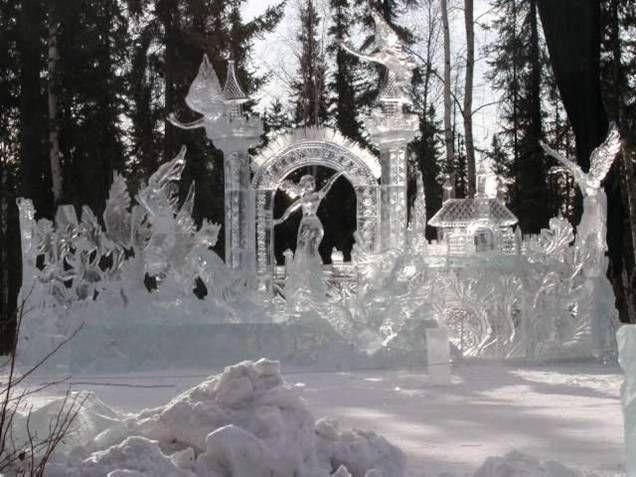 Image Detail For Amazing Ice Sculptures It Rocks Everything