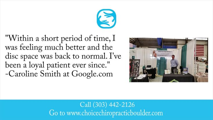 Choice Chiropractic & Wellness Center REVIEWS - Boulder, CO Chiropractor...